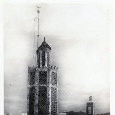 Postales: ANTIGUA POSTAL DE TETUAN - TORRE MEZQUITA RAISUNI. PROTECTORADO ESPAÑOL MARRUECOS. Lote 175416052