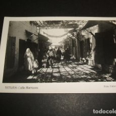Postales: TETUAN CALLE HARRAZEN FOTO CALATAYUD POSTAL FOTOGRAFICA. Lote 81096448