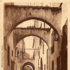 Postales: MARRUECOS - TETUAN - JUDERÍA - CIRCULADA A SAN JAVIER (MURCIA) AÑO 1956. Lote 83850788