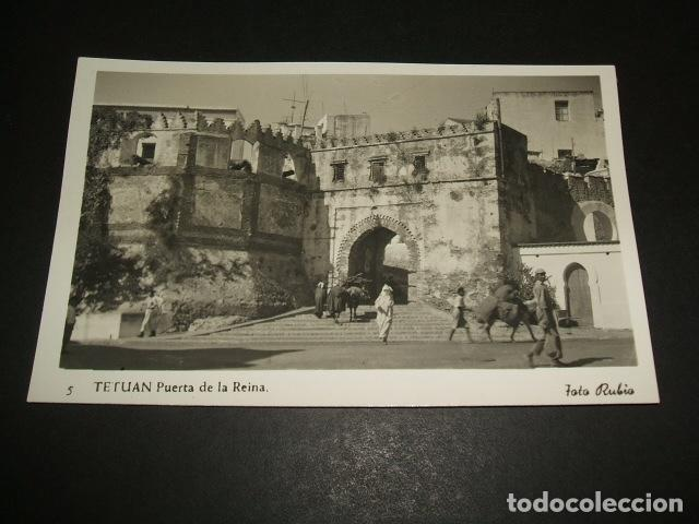 TETUAN PUERTA DE LA REINA FOTO RUBIO (Postales - Postales Temáticas - Ex Colonias y Protectorado Español)