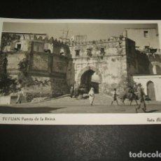Postales: TETUAN PUERTA DE LA REINA FOTO RUBIO. Lote 84511528