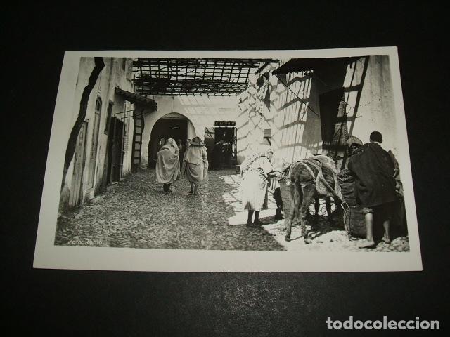 TETUAN UNA CALLE TIPICA DEL BARRIO ARABE FOTO RUBIO (Postales - Postales Temáticas - Ex Colonias y Protectorado Español)