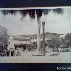 Postales: ANTIGUA POSTAL GUANTANAMO PARK CUBA FOTO AGUIRRE ESCRITA ANIMADA. Lote 87625924