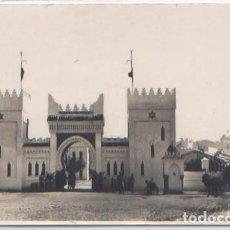 Postales: POSTAL FOTOGRAFICA TETUAN PALACIO DEL CALIFA MARRUECOS ESPAÑOL AÑOS 30 ANIMADA. Lote 90819990