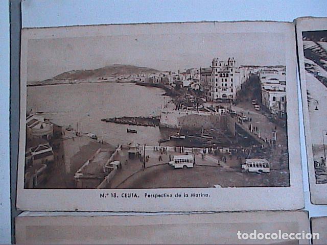 Postales: LOTE DE 5 POSTALES DE CEUTA.1930. CON SELLO DEL PROTECTORADO ESPAÑOL DE MARRUECOS. - Foto 2 - 91547620