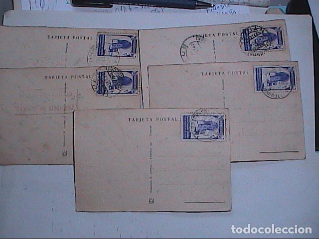 Postales: LOTE DE 5 POSTALES DE CEUTA.1930. CON SELLO DEL PROTECTORADO ESPAÑOL DE MARRUECOS. - Foto 7 - 91547620
