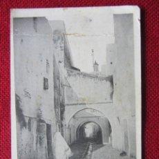 Postales: POSTAL TETUAN(MARRUECOS). CALLE BARRIO MORO. Lote 92949055