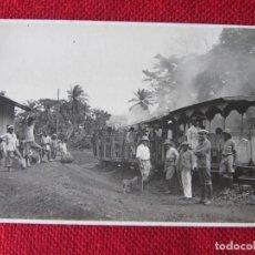 Postales: FOTO POSTAL TREN FERNANDO POO 1923. Lote 92949440