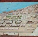 Postales: FOTO POSTAL DE SAHARA, VILLA CISNEROS, VISTA AEREA, COLECCION SAHARA, CIRCULADA.. Lote 92979785