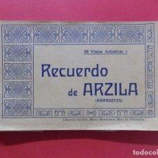 Postales: BLOCK -POSTAL-20 POSTALES RECUERDO DE ARZILA, ASILAH (MARRUECOS) - MARCO HERMANOS, VALENCIA.. R-6669. Lote 93743030