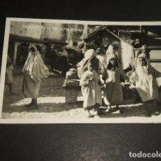 Postales: TETUAN TIPOS DE NIÑOS MOROS POSTAL FOTOGRAFICA. Lote 94168035