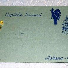 Postales: ANTIGUO LIBRO DE FOTOGRAFÍAS DE CUBA CAPITOLIO NACIONAL HABANA-CUBA. Lote 94619399