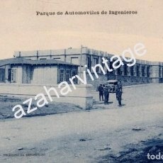 Postales: GUERRA DEL RIF (MARRUECOS) . PARQUE DE AUTOMOVILES DE INGENIEROS - EDICION M. ARRIBAS . Lote 96752647