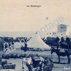 Postales: GUERRA DEL RIF (MARRUECOS) . LA RESTINGA - EDICION M. ARRIBAS . Lote 96752743