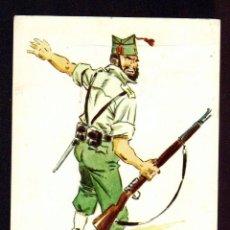 Cartes Postales: UNIFORMES LEGIONARIOS.IFNI.1958.ED.FORESA.POSTÁL ESCRITA.. Lote 97141451
