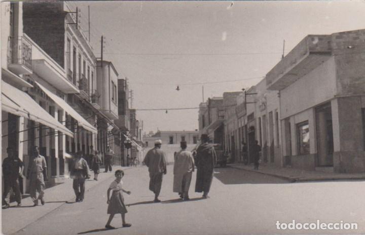 VILLA SANJURJO (MARRUECOS ESPAÑOL) - CALLE (Postales - Postales Temáticas - Ex Colonias y Protectorado Español)