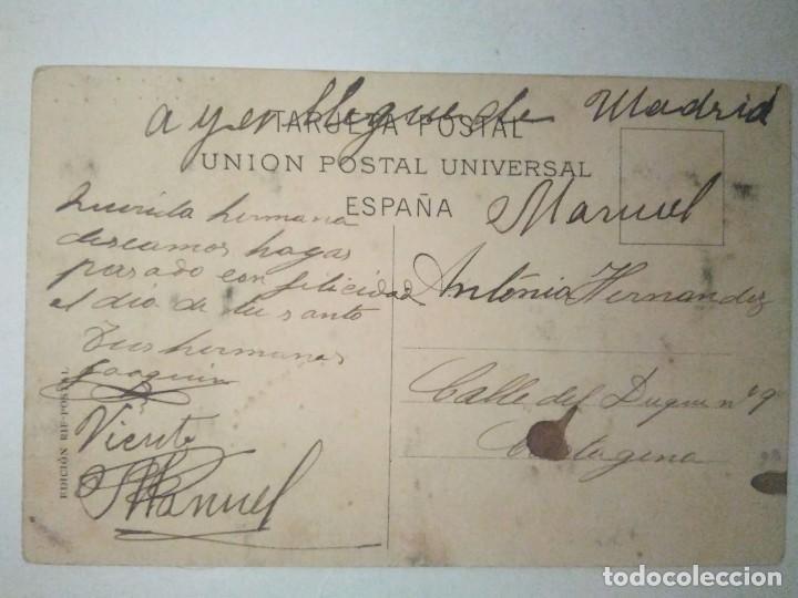 Postales: CAMPAÑA DE MELILLA 1911 A 1912. ZELUAN. EL GENERAL LARREA A SU REGRESO DEL ZAIO. - Foto 2 - 100360035