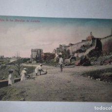 Postales: VISTAS DE LAS MURALLAS DE LARACHE. SIN CIRCULAR.. Lote 100623567