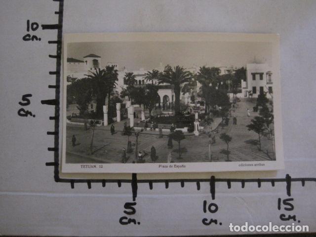 Postales: TETUAN - 12 - PLAZA DE ESPAÑA - FOTOGRAFICA -VER FOTOS -(50.852) - Foto 3 - 101644131