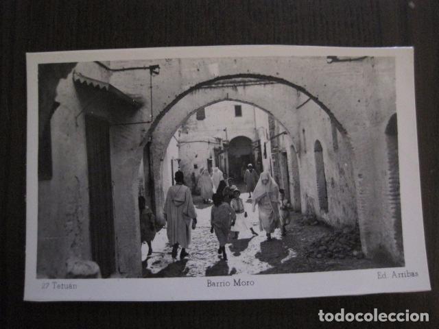 TETUAN - 27 - BARRIO MORO - FOTOGRAFICA -VER FOTOS -(50.855) (Postales - Postales Temáticas - Ex Colonias y Protectorado Español)