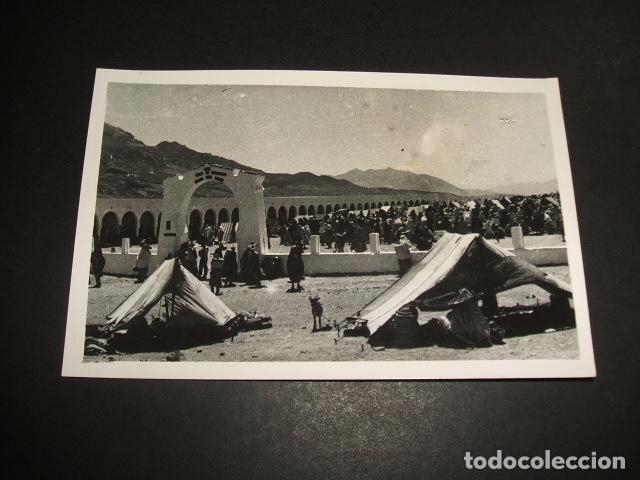 XAUEN MARRUECOS ESPAÑOL POSTAL FOTOGRAFICA MERCADO (Postales - Postales Temáticas - Ex Colonias y Protectorado Español)