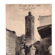 Postales: ALCAZAR CALLES ANTIGUAS ANCIENNES RUES.- SELLO REG.DRAGONES NUMANCIA.ESCUADRÓN EXPEDICIONARIO . Lote 103539495