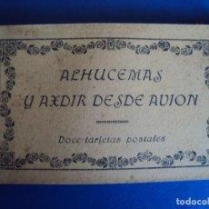Postales: (PS-53659)BLOCK DE 12 POSTALES ALHUCEMAS Y AXDIR DESDE AVION. Lote 103563823