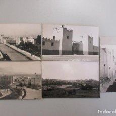 Postales: LOTE CINCO POSTALES FOTOGRÁFICAS DE SIDI IFNI, MARRUECOS AÑOS 50, FOTO MAYERAO, REVERSO SIN IMPRIMIR. Lote 103984371