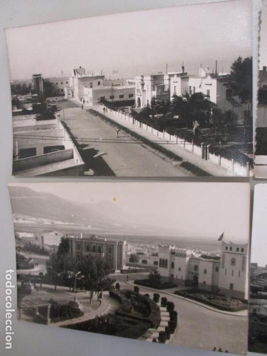 Postales: Lote cinco postales fotográficas de Sidi Ifni, Marruecos años 50, Foto Mayerao, reverso sin imprimir - Foto 2 - 103984371