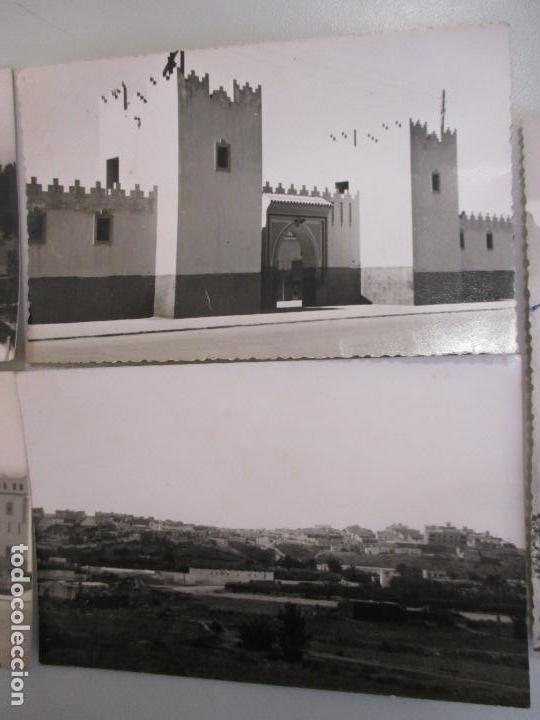 Postales: Lote cinco postales fotográficas de Sidi Ifni, Marruecos años 50, Foto Mayerao, reverso sin imprimir - Foto 4 - 103984371