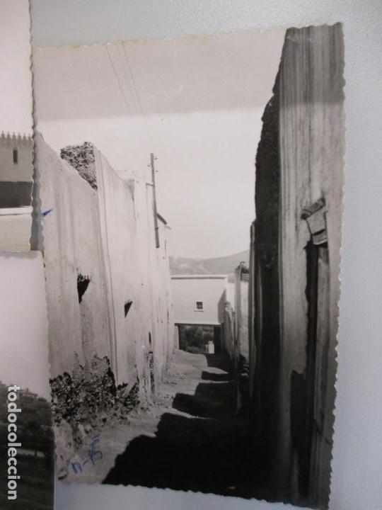 Postales: Lote cinco postales fotográficas de Sidi Ifni, Marruecos años 50, Foto Mayerao, reverso sin imprimir - Foto 5 - 103984371