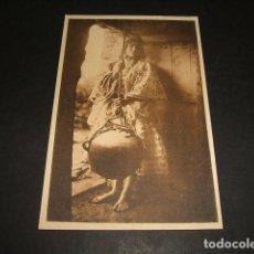 Postales: EL RIF JOSE ORTIZ ECHAGÜE MORA HACIENDO MANTECA POSTAL 2ª SERIE Nº 12 . Lote 103990627