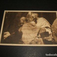 Postales: EL RIF JOSE ORTIZ ECHAGÜE BARBERIA EN UN ZOCO POSTAL 2ª SERIE Nº 6 . Lote 103991315