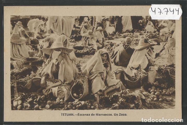 TETUAN - ESCENAS DE MARRUECOS UN ZOCO - ED. ARRIBAS - VER REVERSO - (47.744) (Postales - Postales Temáticas - Ex Colonias y Protectorado Español)