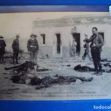 Postales: (PS-54496)POSTAL CAMPAÑA DE RIF.1921-CAPELLAN REZANDO ANTE LOS RESTOS DE ESPAÑOLES. Lote 109572911