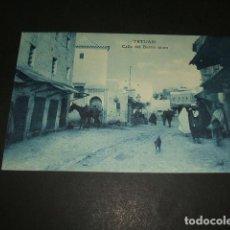 Postales: TETUAN MARRUECOS ESPAÑOL CALLE DEL BARRIO MORO. Lote 110032267