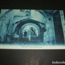 Postales: TETUAN MARRUECOS ESPAÑOL CALLE DEL BARRIO MORO. Lote 110032295