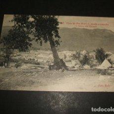 Postales: BEN KARRICH MARRUECOS ESPAÑOL CAMPAMENTO DE LA HARCA DEL RAISULI FOTO RUBIO CEUTA. Lote 110196839