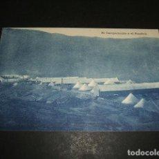 Postales: EL FONDAK CAMPAMENTO EDICION JOSE FERNANDEZ ESTURILLO CEUTA GUERRA DEL RIF MARRUECOS. Lote 110196955