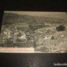 Postales: XAUEN CHEFCHAUEN MARRUECOS ESPAÑOL VISTA GENERAL DEL CAMPAMENTO AL FONDO AL AJMAA FOTO RUBIO CEUTA. Lote 110205183