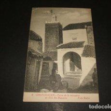 Postales: XAUEN CHEFCHAUEN MARRUECOS ESPAÑOL TORRE DE LA MEZQUITA DE SIDI BU BUJANXA FOTO RUBIO CEUTA. Lote 110205231