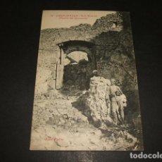 Postales: XAUEN CHEFCHAUEN MARRUECOS ESPAÑOL BAB MAHROK PUERTA DEL QUEMADO FOTO RUBIO CEUTA. Lote 110205271