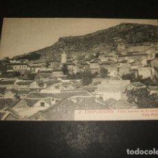 Postales: XAUEN CHEFCHAUEN MARRUECOS ESPAÑOL VISTA PARCIAL DE LA CIUDAD FOTO RUBIO CEUTA. Lote 110205383