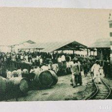 Postales: GUINEA CONTINENTAL- EXPOSICION IBERO-AMERICANA, SEVILLA-1929- DESEMBARCADERO DE SANTA ISABEL. Lote 112985347