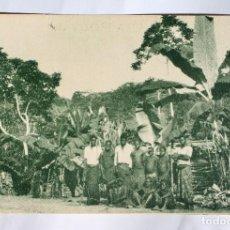 Postales: GUINEA CONTINENTAL- EXPOSICION IBERO-AMERICANA, SEVILLA-1929- ALREDEDORES DE MOMBE.. Lote 113238227