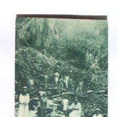 Postales: GUINEA CONTINENTAL- EXPOSICION IBERO-AMERICANA, SEVILLA-1929- MISIONERO EN NACIMIENTO RIO TIBURONES. Lote 113240459