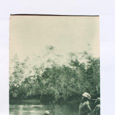 Postales: GUINEA CONTINENTAL- EXPOSICION IBERO-AMERICANA, SEVILLA-1929- EN LA RIBERA RIO UTOKI.. Lote 113248135