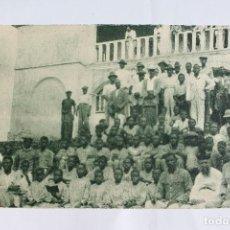 Postales: GUINEA CONTINENTAL- EXPOSICION IBERO-AMERICANA, SEVILLA-1929- ALUMNOS MISION CABO SAN JUAN.. Lote 113249023