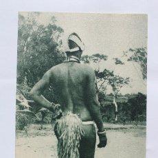 Postales: GUINEA CONTINENTAL- EXPOSICION IBERO-AMERICANA, SEVILLA-1929- MUJER DE TRIBU EXAMBIRA.. Lote 113256059
