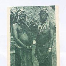 Postales: GUINEA CONTINENTAL- EXPOSICION IBERO-AMERICANA, SEVILLA-1929- MUJERES DEL MONTE MAYALA.. Lote 113256695
